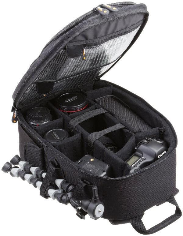 Mochila para cámara réflex AmazonBasics