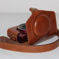Funda retro para compacta Canon Powershot